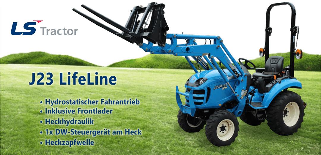 LS Tractor J23 LifeLine